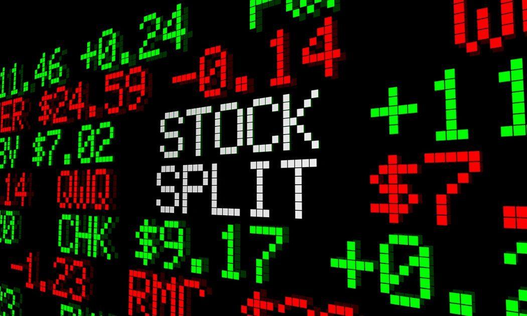 Uprava ceny akcii - rozdeleni akcii