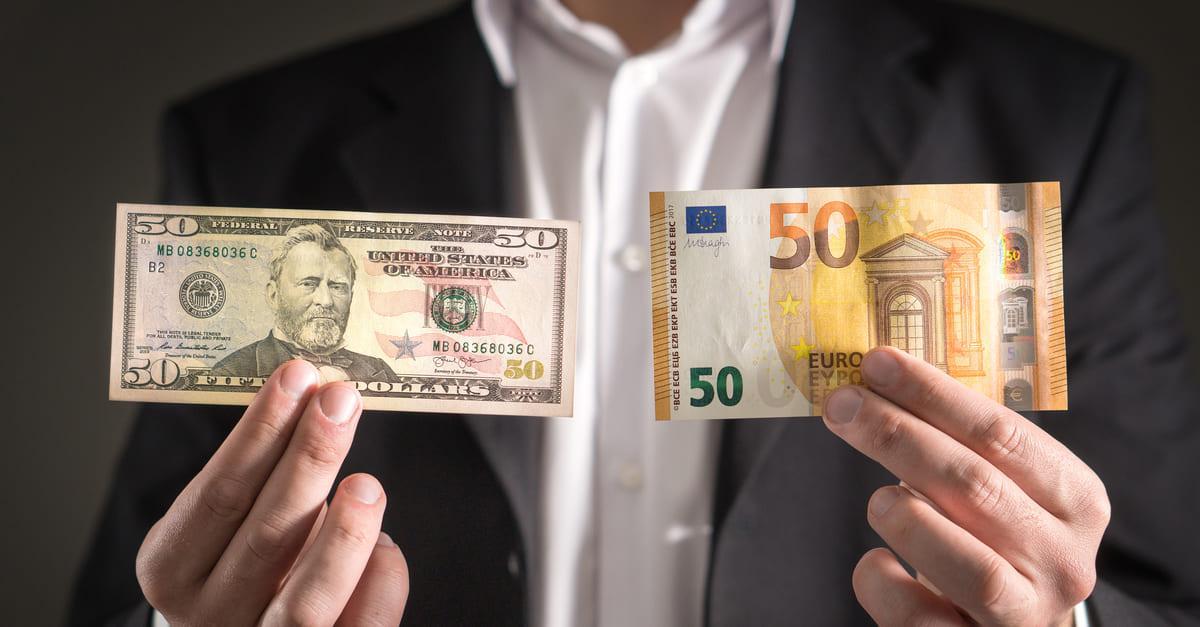 Historie měnového páru EUR/USD