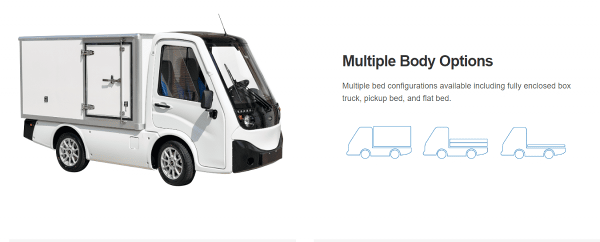 Investice do elektro vozidel - Ayro, Inc.