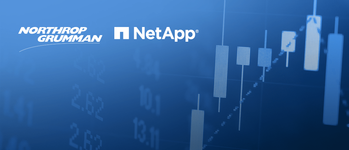 Доходность акций Northrop Grumman и NetApp может превысить 50%