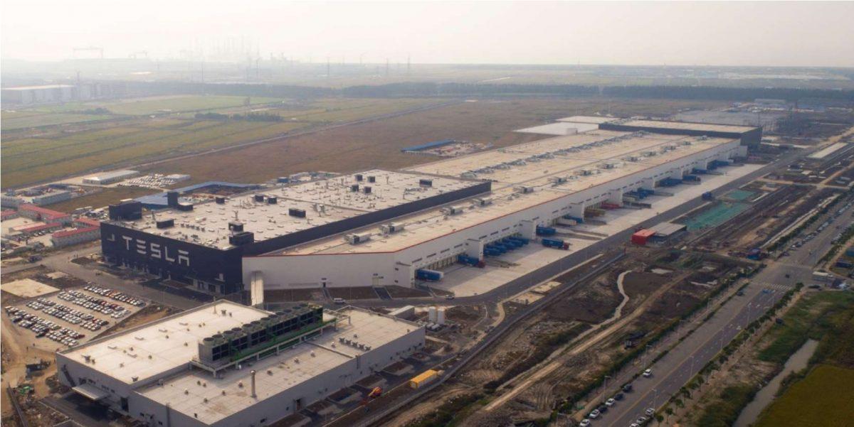 завод Gigafactory Shanghai