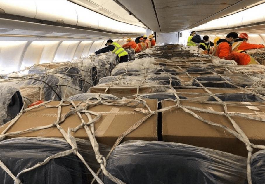Пассажирский самолет компании Lufthansa