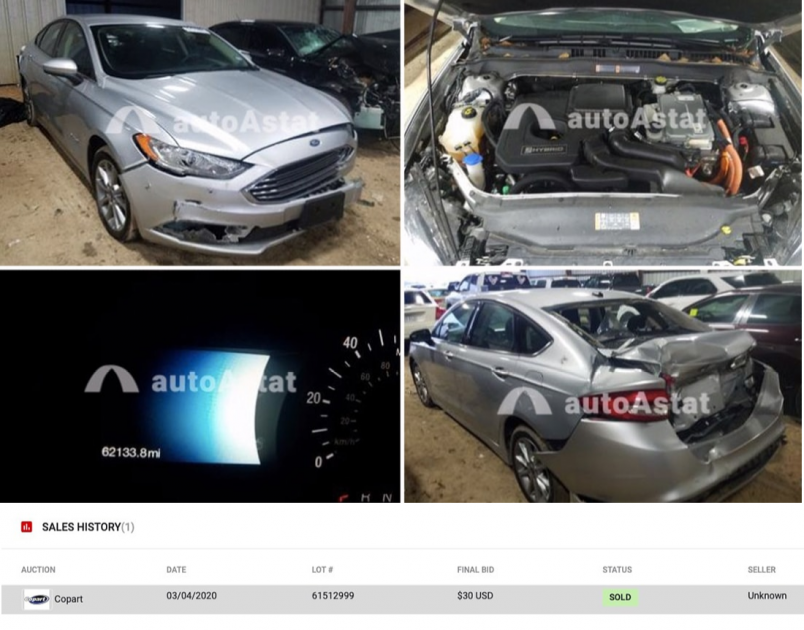 Падение цен на автоаукционах