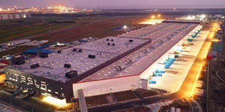 Завод Gigafactory 3 в Китае