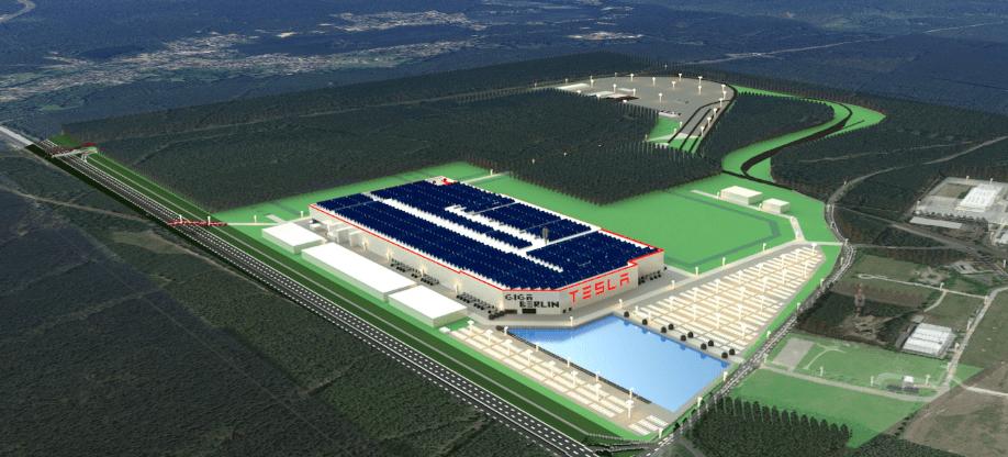 Завод Gigafactory 4 в Германии