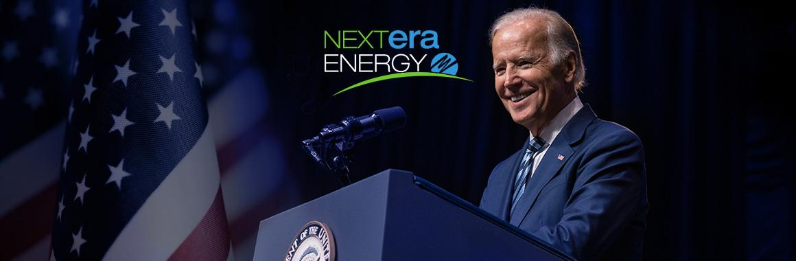 Победа Джо Байдена в президентской гонке увеличит прибыль NextEra Energy