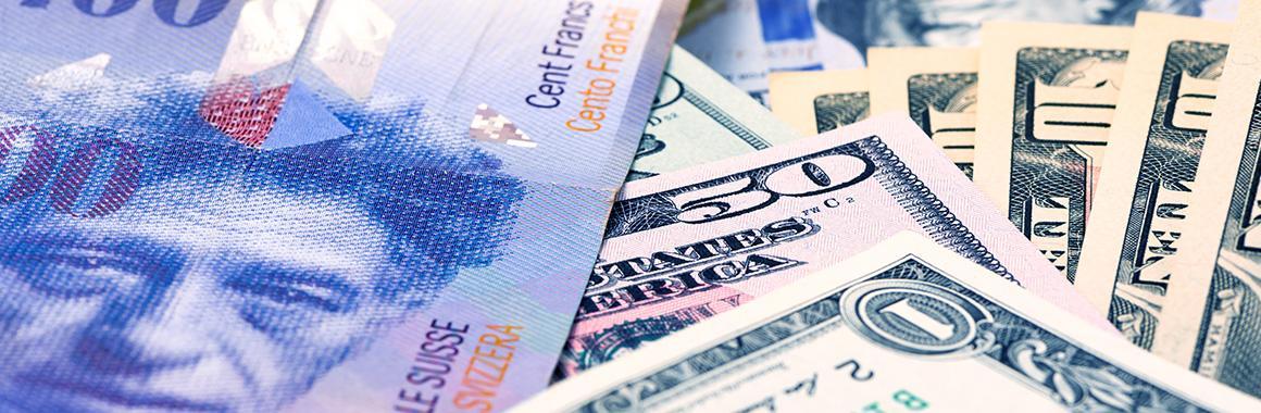 Как торговать валютной парой USD/CHF?