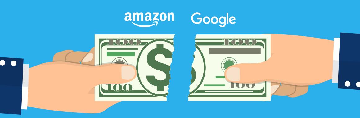 Google, подвинься! Amazon увеличил доход от рекламы в 2020-м на 52%