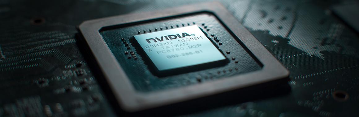 На фоне новости о выпуске нового процессора акции NVIDIA выросли на 5%