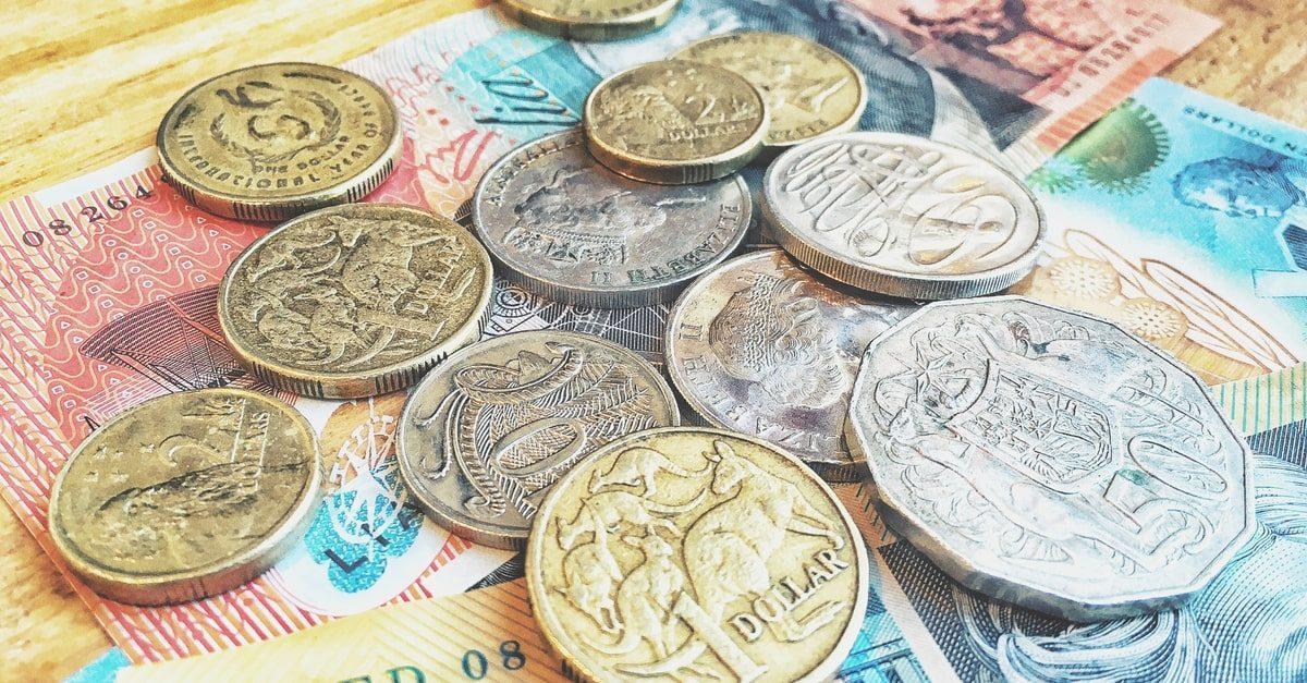 Центовые и долларовые монеты Австралии