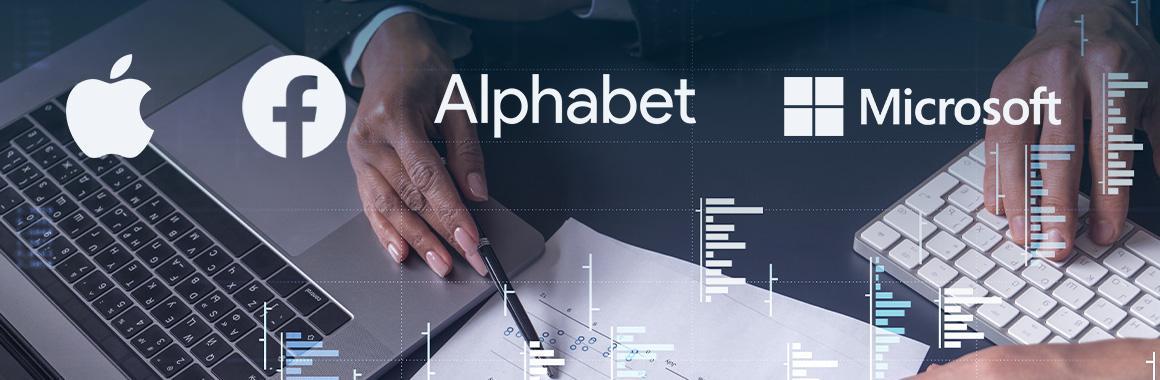Высшая лига: квартальные отчёты Apple, Alphabet, Microsoft и Facebook