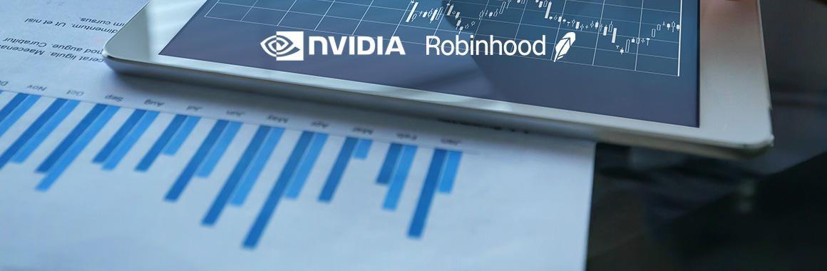 Квартальные отчёты Nvidia и Robinhood Markets