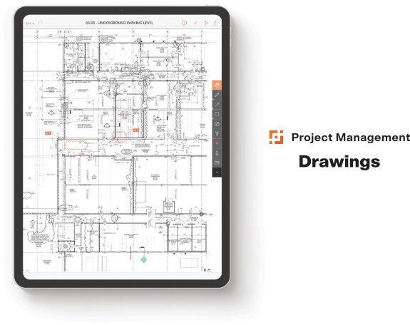 Приклад інтерфейсу Procore Technologies