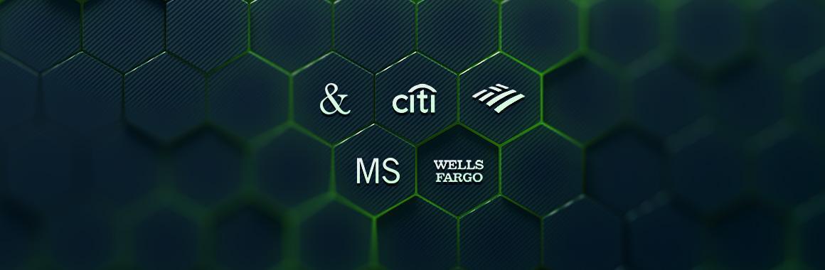 JPMorgan, Bank of America, Morgan Stanley, Citigroup і Wells Fargo відзвітували за третій квартал 2021 року