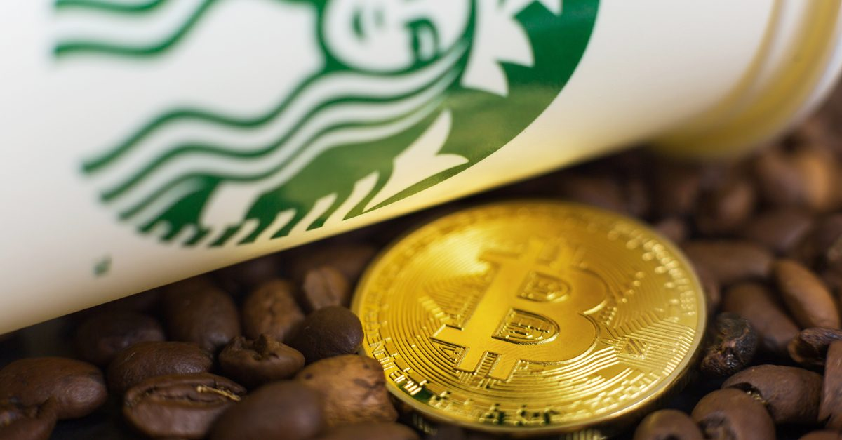Starbucks ยินดีรับ cryptocurrencies