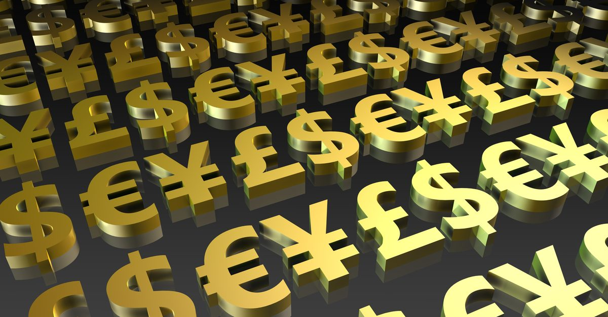 The characteristics of major currency pairs