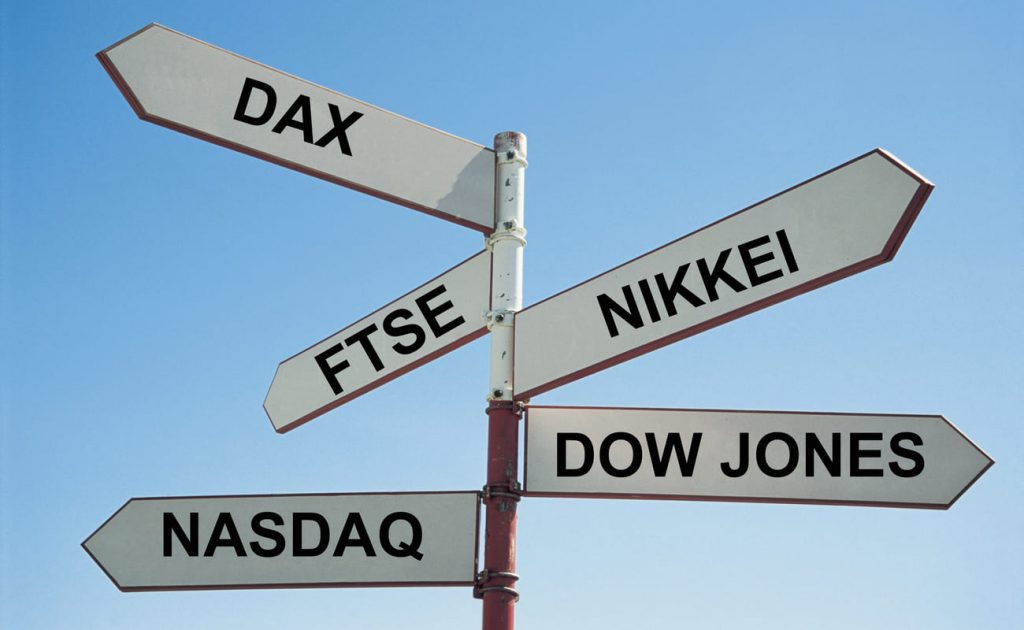 Main stock indices