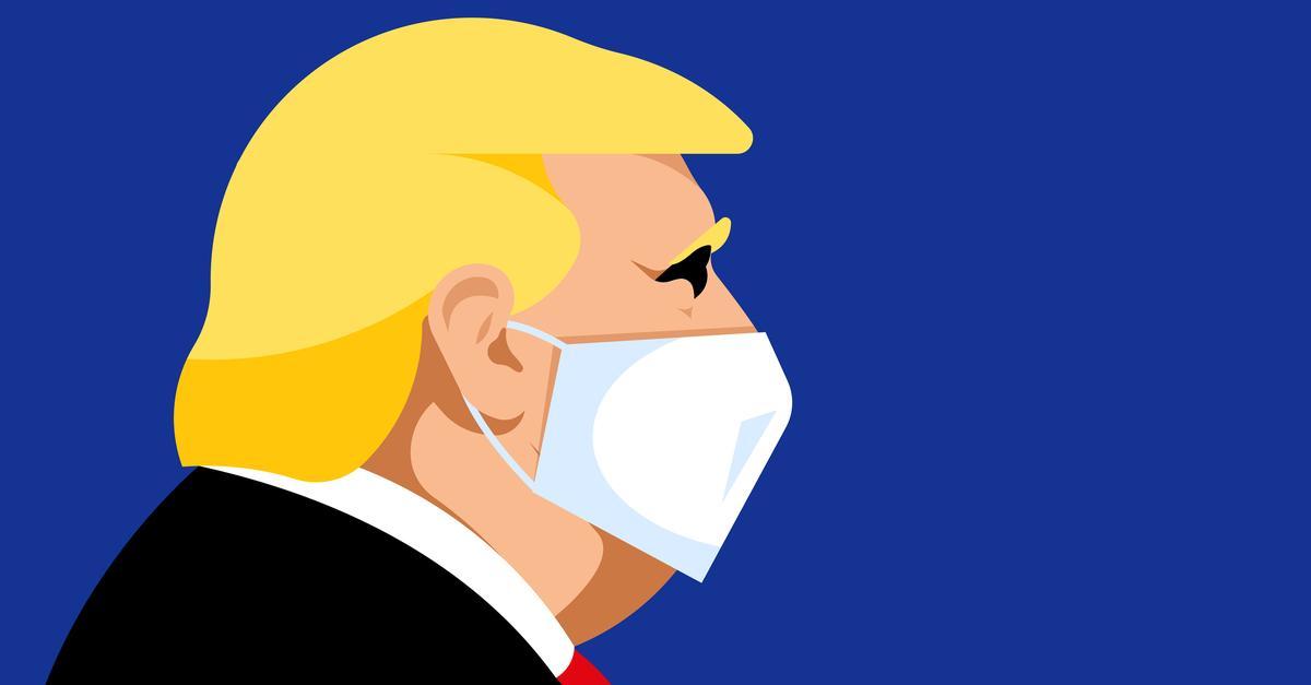 Donald Trump - Koronawirus - Covid-19