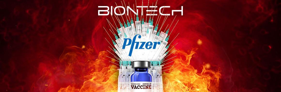 فازت شركة Pfizer و BioNTech SE بسباق اللقاحات