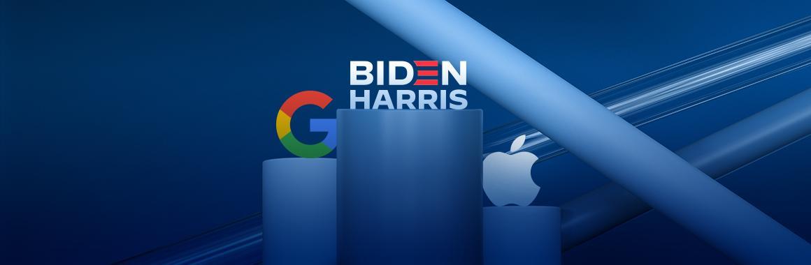 Juriidiline probleem Google'i vastu, uus rekord Apple'i aktsiatest ja Bideni monopolidevastane dekreet