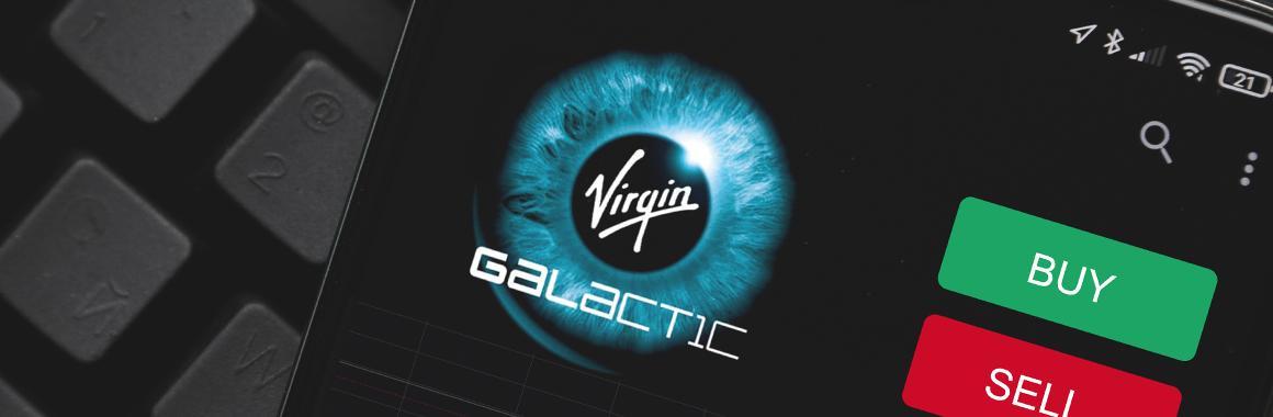 Kas notiek ar Virgin Galactic akcijām?