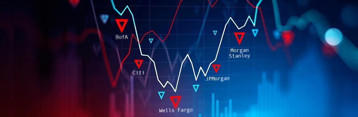 JPMorgani, Citigroupi, Wells Fargo, Bank of America ja Morgan Stanley finantsaruanded