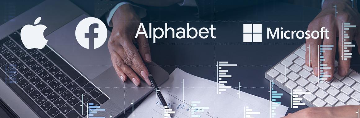 ลีกสูงสุด: ประกาศรายไตรมาสจาก Apple, Alphabet, Microsoft และ Facebook