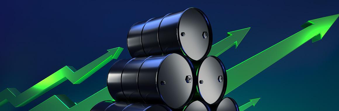 Firmy naftowe zyskują więcej: akcje rosną